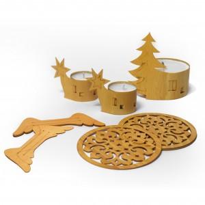 Weihnachts-Set | Tischdeko