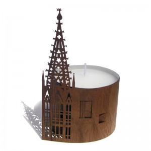 Teelichtbanderole | Münster...